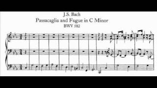 J.S. Bach - BWV 582 - Passacaglia c-moll / C minor