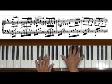 Mendelssohn Songs without Words Op. 67, No. 2 Piano Tutorial