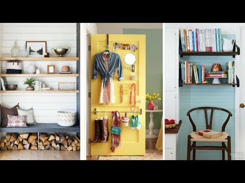 ???? 5 Clever Space-Saving Vertical Organizer Ideas For Small Bedroom ????