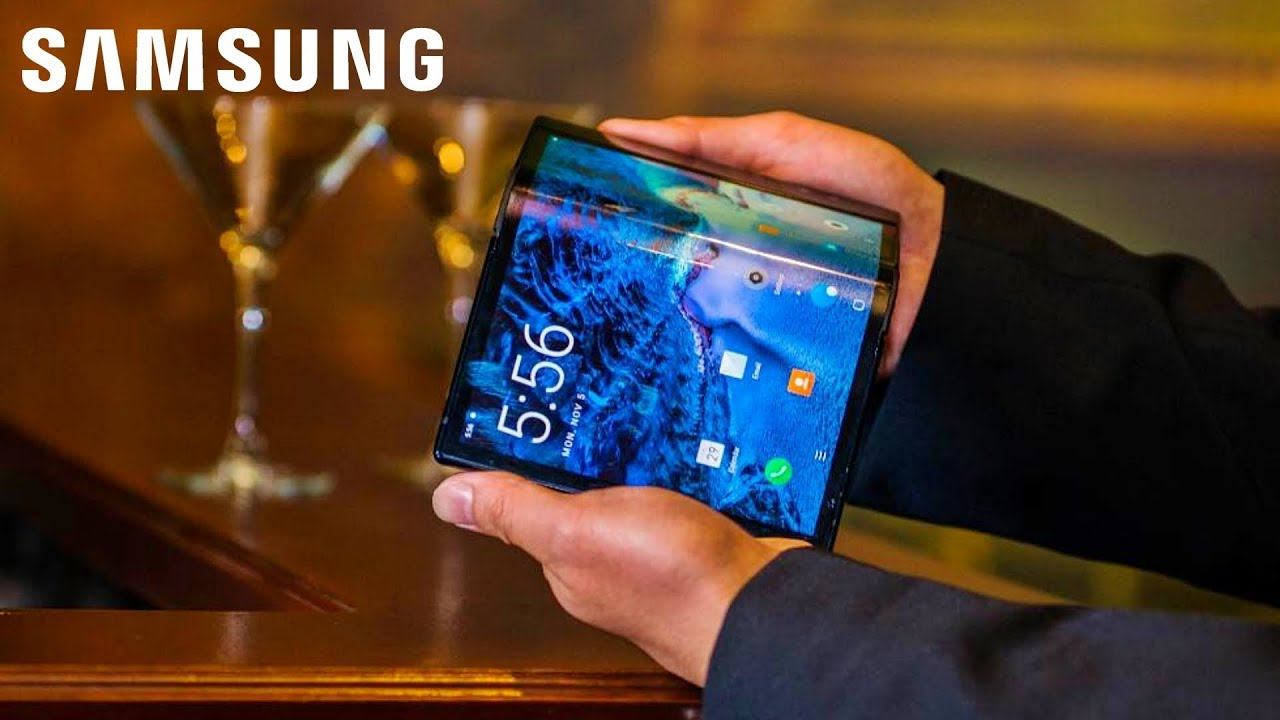 Image result for samsung foldable phone