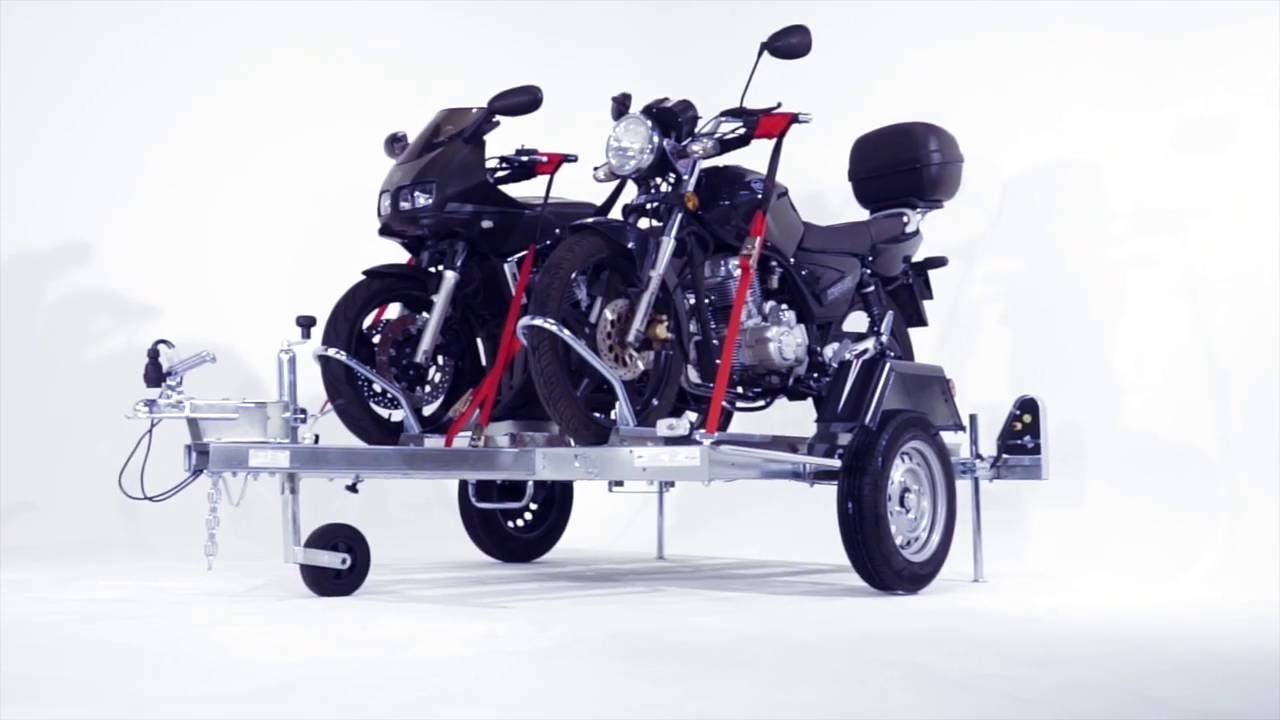 remorque erd pour transporter moto scooter quad sur youtube. Black Bedroom Furniture Sets. Home Design Ideas
