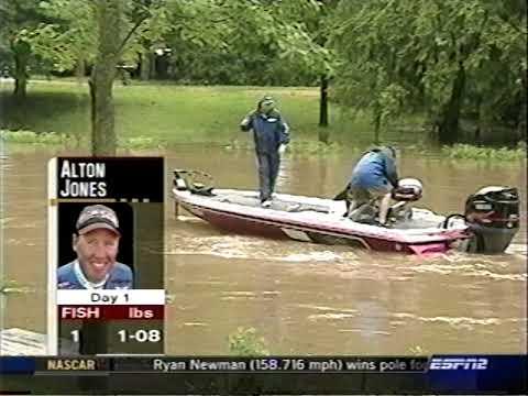 2003 Bassmaster --  Alabama River   Part One