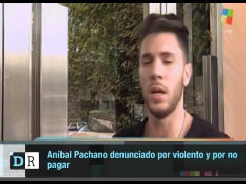 Aníbal Pachano denunciado por violento y por no pagar