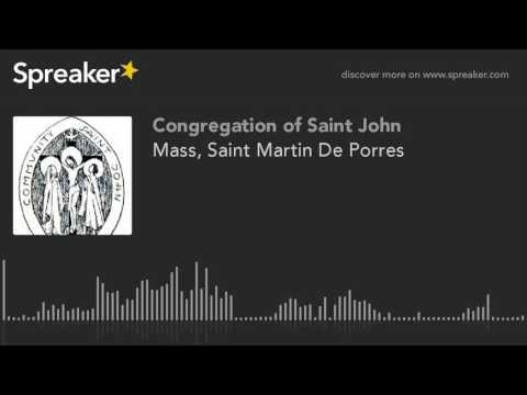 Mass, Saint Martin De Porres