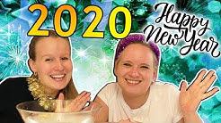 Silvester Special 2019 🎆 Guten Rutsch 🎆 Wachsgießen & Jahresrückblick mit Eva & Kathi