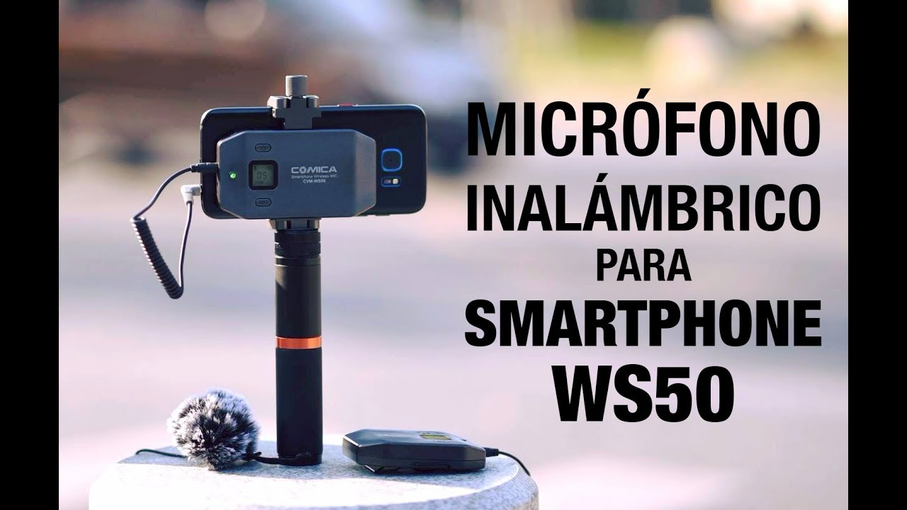 review and test smartphone wireless microphone cvm sw50 en espa ol youtube. Black Bedroom Furniture Sets. Home Design Ideas
