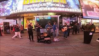 '' STEEL CITY JUG SLAMMERS '',,,,, IN TIMES SQUARE NEW YORK 2019,,,,,,,,WELCOME TO NEW YORK