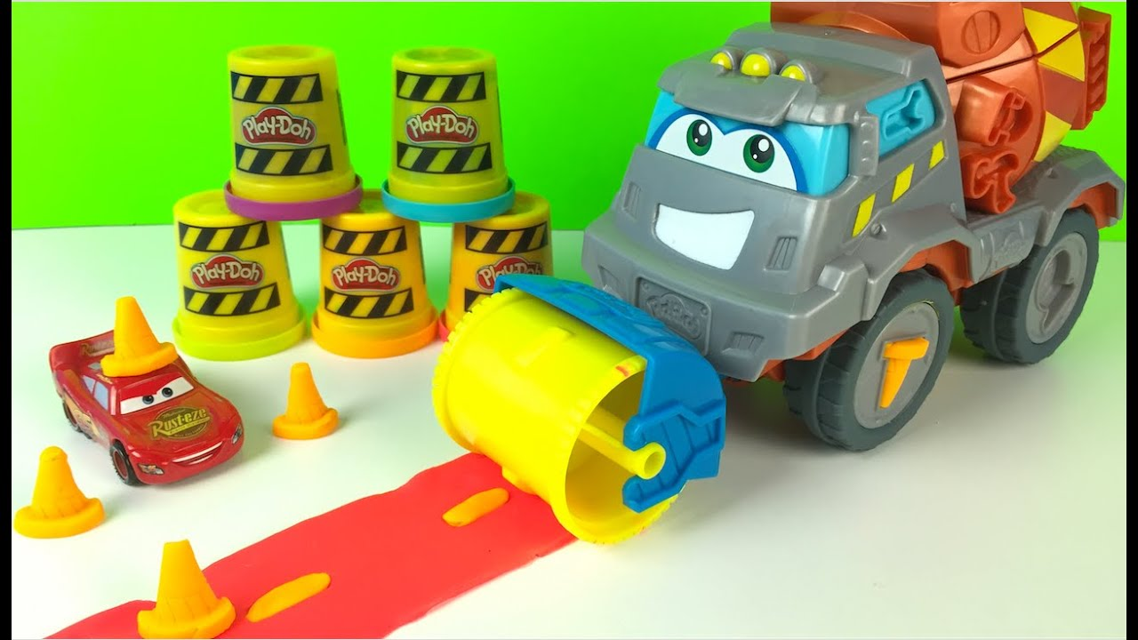Cat Construction Toys For Toddlers : Play doh max the cement mixer truck construction toys for