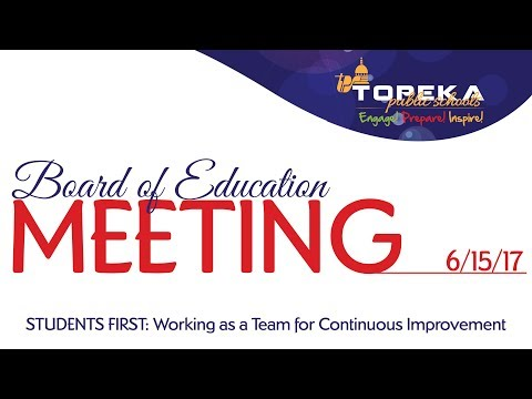 Board of Education Meeting: June 15, 2017