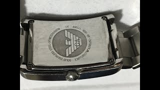 알마니 AR-1639 시계 수리기 / Armani AR…