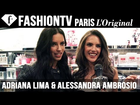 Victoria's Secret Fashion Show 2014-2015 Adriana Lima & Alessandra Ambrosio Interview | FashionTV