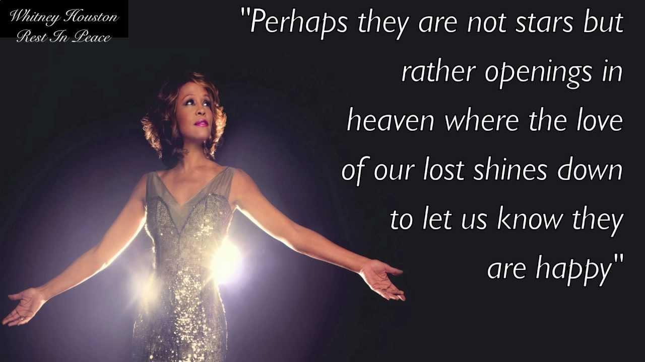 Whitney Houston - I Will Always Love You with Lyrics - YouTube