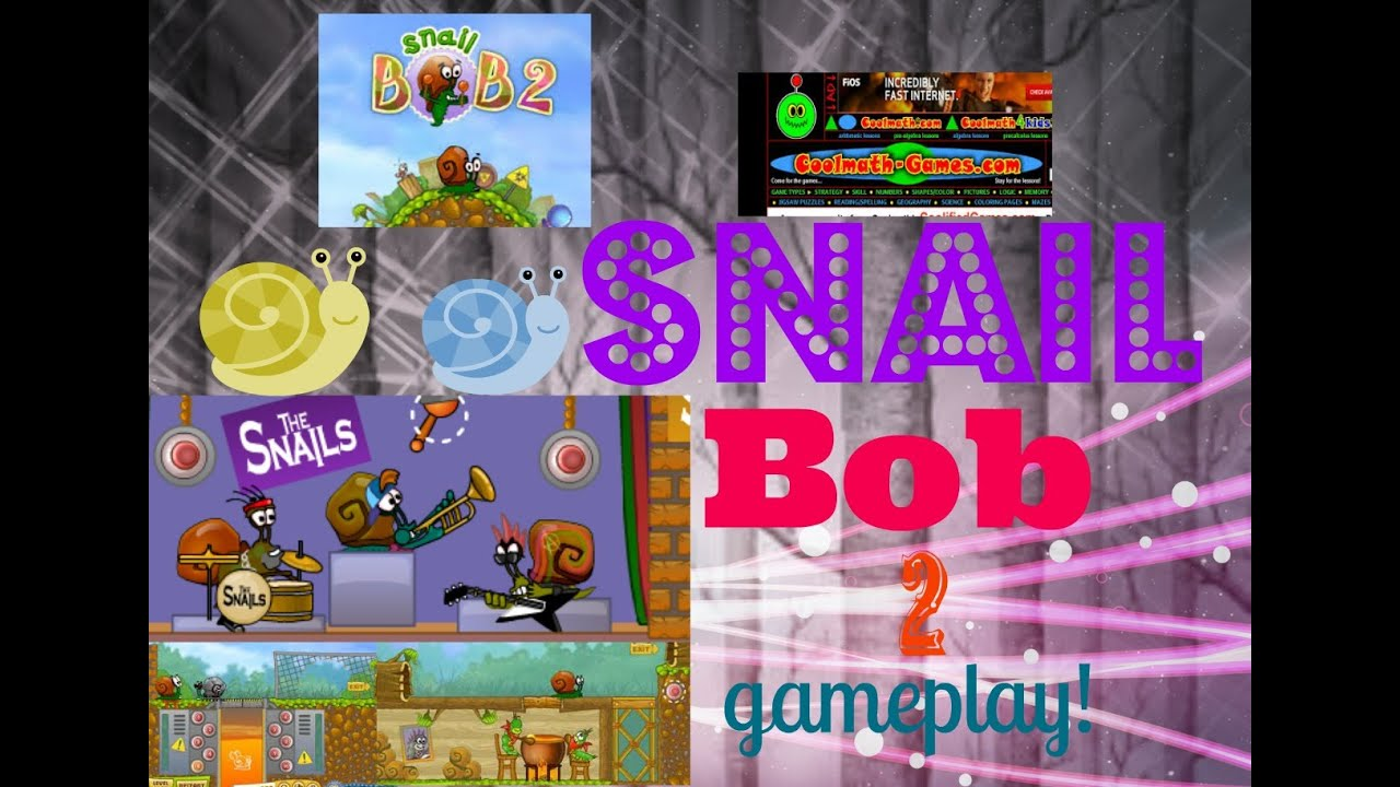 Snail Bob 1 Cool Math 4 kids! (game play) - YouTube