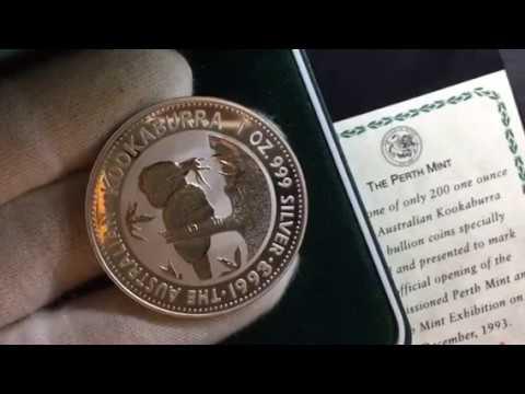 The rarest of all of the Kookaburra 1993 Silver Bullion Coin