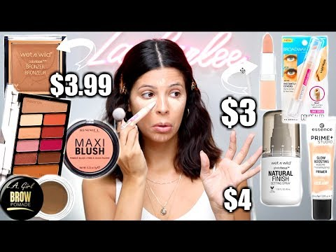 MY HOLY GRAIL MAKEUP UNDER $5 ... super affordable! thumbnail