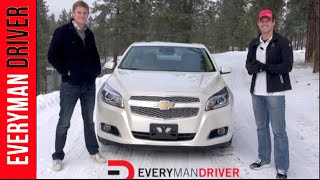 2013 Chevrolet Malibu | New Car Review | on Everyman Driver