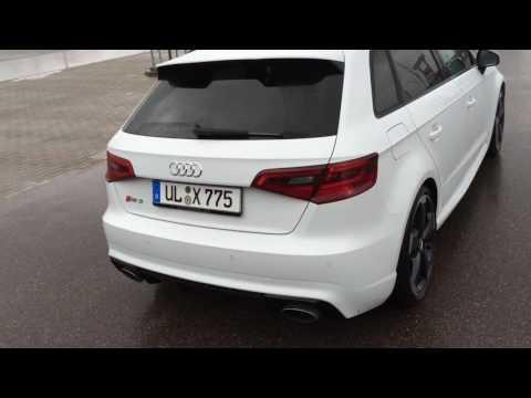 Audi RS3 Sportback Launch Drift Sound!
