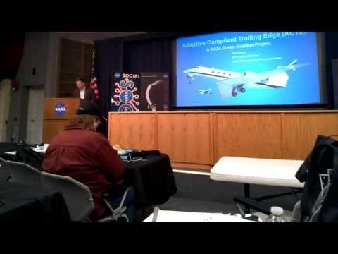 2014-11-18 Adaptive Compliant Trailing Edge ACTE flap w Tom Rigney Intro