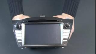 Магнитола для Hyundai ix35, Tuscon Ksize DV 7255A смотреть