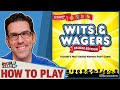 Wits & Wagers - How To Play & Game Play