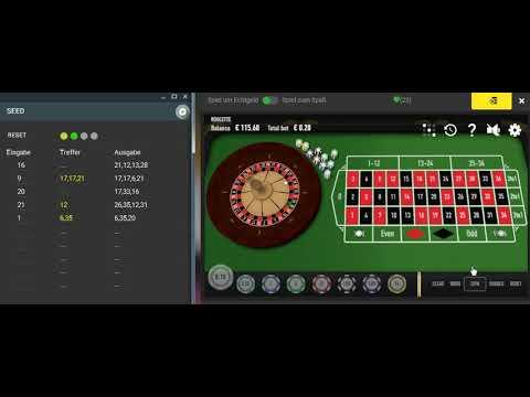 Roulette Programm