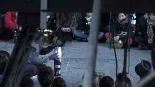 Quatrième jour du festival Sonic Protest à l'ancienne brasserie Bou...