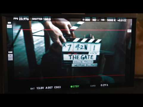 The Gate Behind the scenes (Dan's Movie Report Exclusive Video)