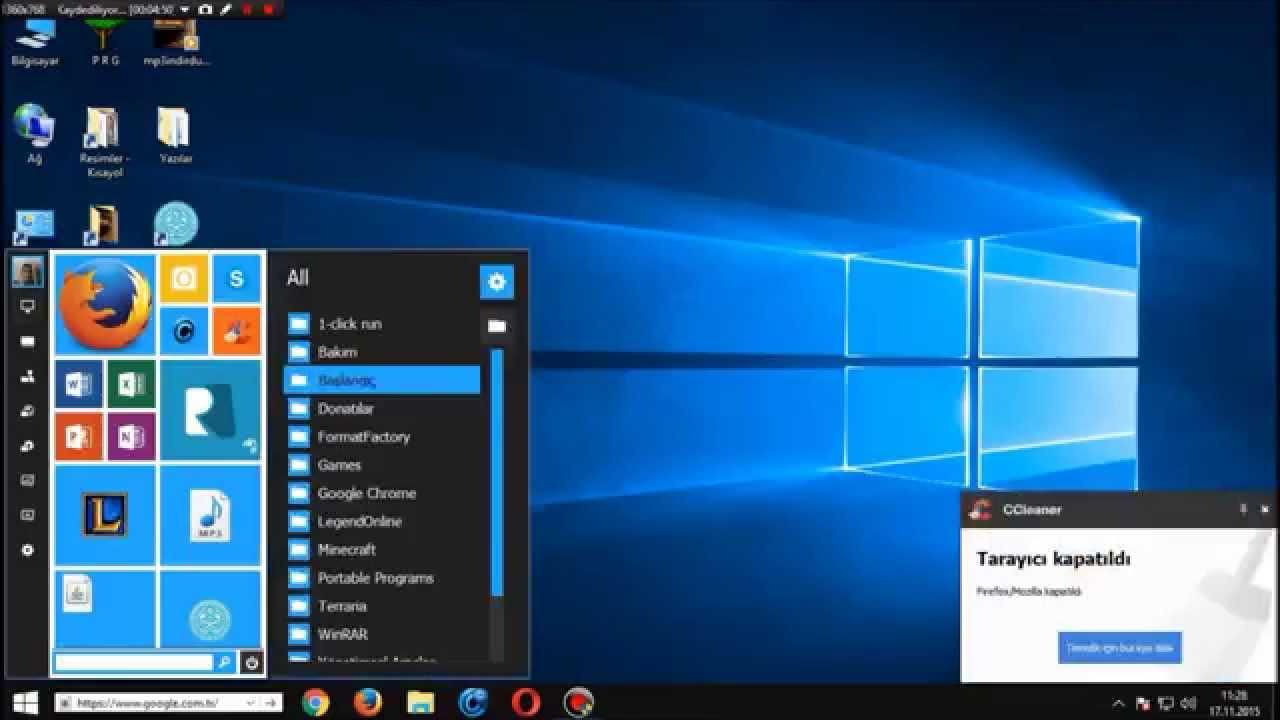 Bilgisayara Windows 10 Teması İndirme! - YouTube
