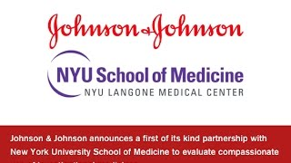 J&J Announces Compassionate Use Partnership