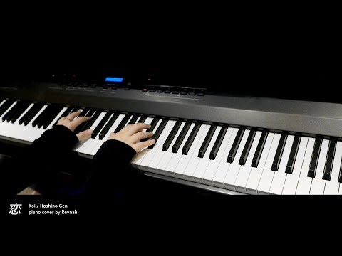 """恋 (koi)"" Piano Cover 피아노 커버 - 星野源 Hoshino Gen"