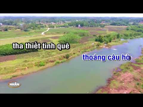 Câu Hát Tình Quê Karaoke Beat   Tone Nam