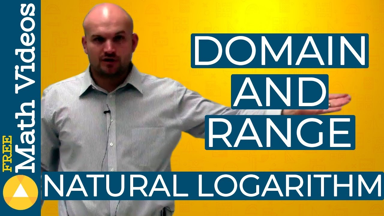 How to find the domain and range of a natural logarithmic function how to find the domain and range of a natural logarithmic function ccuart Image collections