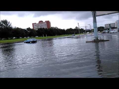 Потоп. СПб. Ленинский проспект 16.08.16