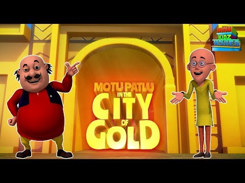 Motu Patlu In Gold City - Full Movie | Animated Movies |  Wow Kidz Movies