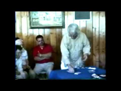 Magician Bob Elliot Lecture At Mario Gonzalas Magic On The Mountains Part 1