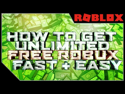FREE ROBUX 2017 GLITCH HOW TO GET UNLIMITED FREE ROBUX IN ROBLOX 2017 NO DOWNLOAD - Roblox Tutorial