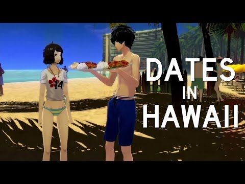 Persona 5 All Hawaii Dates English