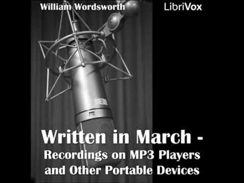 Recordings on MP3 players and other portable devices (Written in March) by William WORDSWORTH