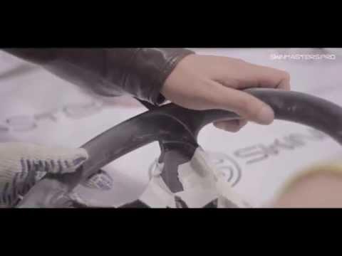 видео: Анатомия руля и перетяжка кожей и алькантарой - Москва skinmasters.pro