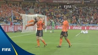 Robben, Sneijder lift Oranje to quarter-finals