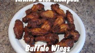 Atkins Diet Recipes:  Buffalo Wings (IF)