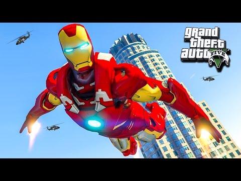 Железный человек в GTA 4