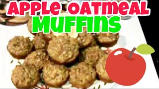 Cooking With Food Storage - Apple Oatmeal Muffins