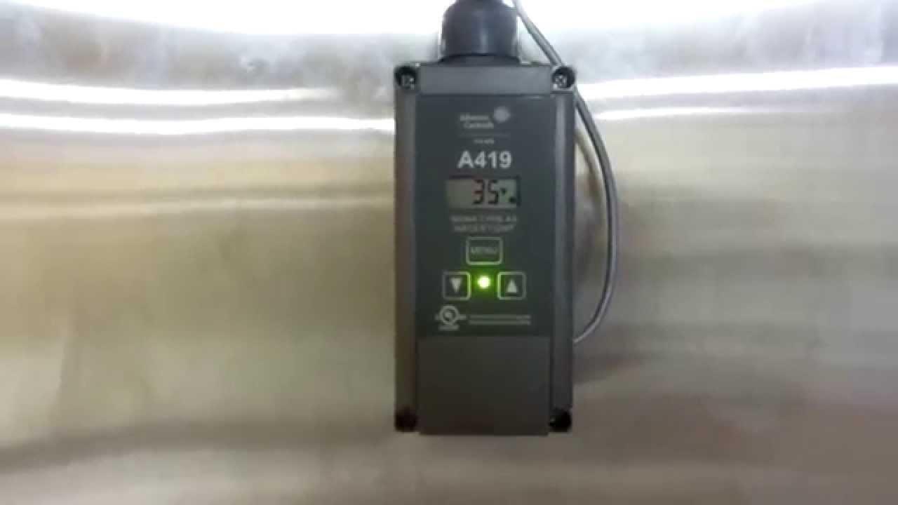 maxresdefault johnson controls penn a419 digital temperature control