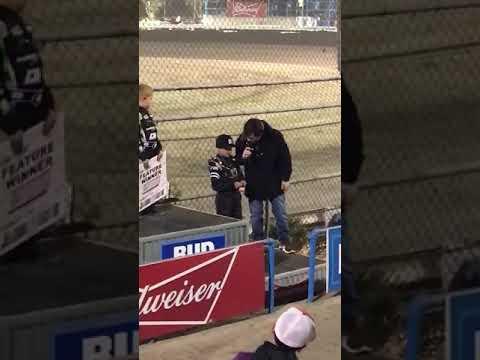 Plaza Park Raceway Turkey Night 11/16/18 Ty's Interview