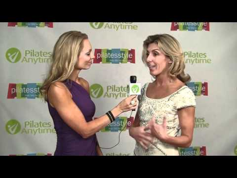 Kristi Cooper talking about Pilates Anytime