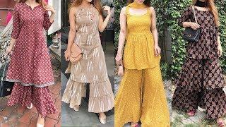 Sharara Suit Designs || Latest Sharara Dress Designs 2019-2020