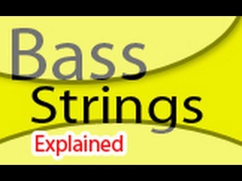 bass strings gauges tension tuning etc youtube. Black Bedroom Furniture Sets. Home Design Ideas