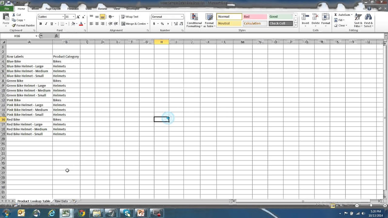 how to use vlookup in excel to categorize sales data youtube