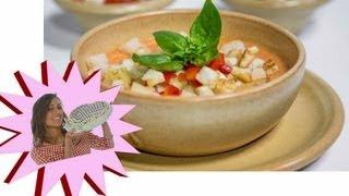 Gazpacho Classico - Con Pomodori, Peperoni E Cetrioli - Le Ricette Di Alice